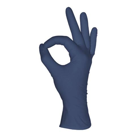 Перчатки одноразовые нитриловые черничные, 3,2 г. (100 шт/уп)