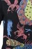 Свитшот Варгградъ мужской чёрный «Трёхдневная битва Сварога со змеем чёрным» О-З
