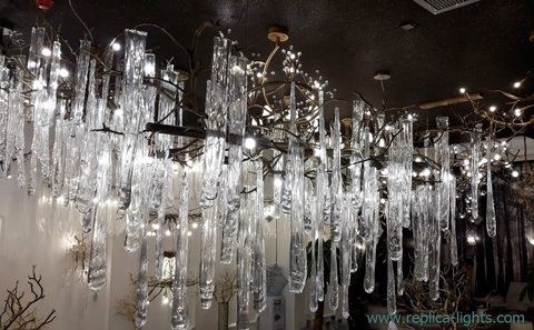 replica MURANO GLASS  chandelier 01 -10