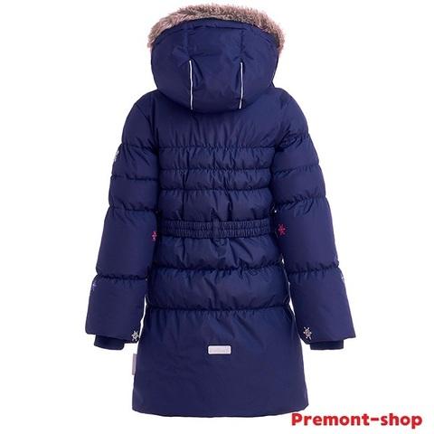 Пальто Premont для девочки Маршмеллоу WP91352 DARK BLUE
