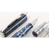 Перьевая ручка Visconti Опера Демо Тайфун синяя смола перо 18 (VS-651-18M)