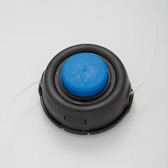 Катушка триммерная (полуавтомат) ЛТР-011К черная с синим