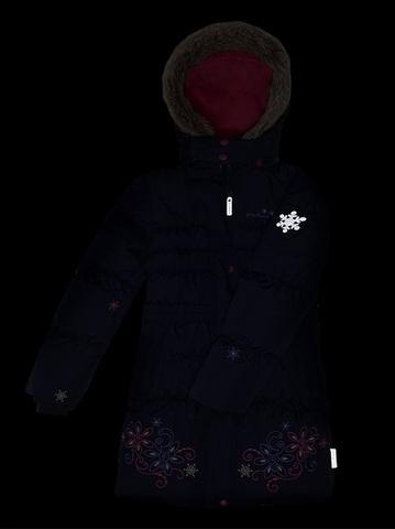 Пальто для девочки Premont Маршмеллоу WP91352 DARK BLUE