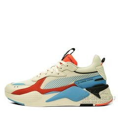 Кроссовки Puma RS X Beige Red Blue