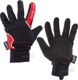 Перчатки лыжные утепленные Ski Team K18004B черно/красные