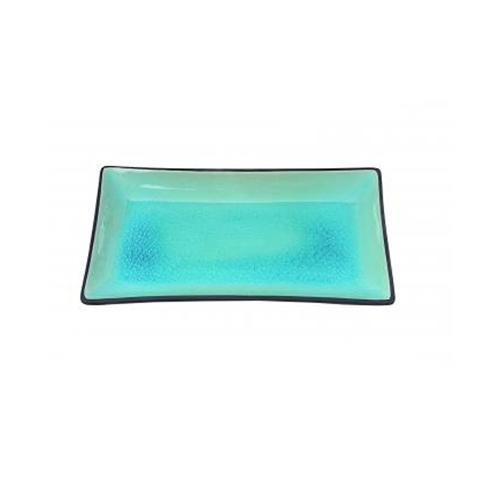 Тарелка Tokyo Design Studio Glassy Turquoise 8167