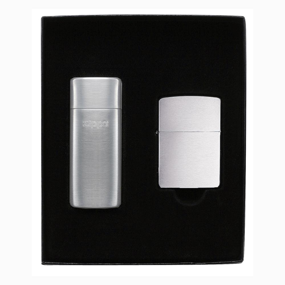 Подарочный набор зажигалка Zippo + карманная пепельница Zippo №24748