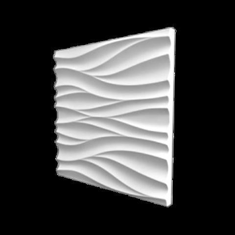 Гипсовая 3Д панель Поток