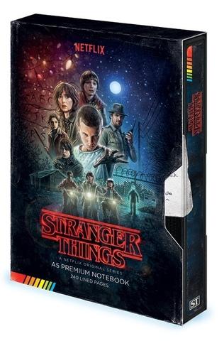 Записная книжка Stranger Things (VHS)