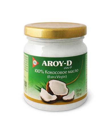 Масло кокосовое Aroy-D 100% 180мл
