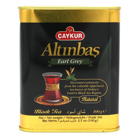 Турецкий черный чай с бергамотом Altinbas, Çaykur, 100 г