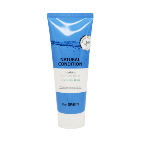 Пенка для умывания The Saem Natural Condition Sparkling Anti-dust Cleansing Foam, 150 мл