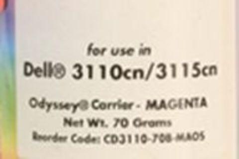 Носитель - девелопер Xerox Phaser 6180, Phaser 6280, Epson C2800, C3800 пурпурный 70g (Static Control)