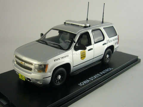 Chevrolet Tahoe Iowa State Patrol Police (US) First Response 1:43