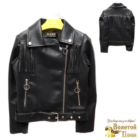 Куртка экокожа девочке (6-11) 200305-T1902.1