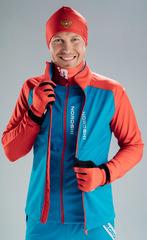 Лыжный жилет Nordski Premium Blue-Red 2020