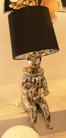 replica Jaime Hayon Clown table lamp (silver)