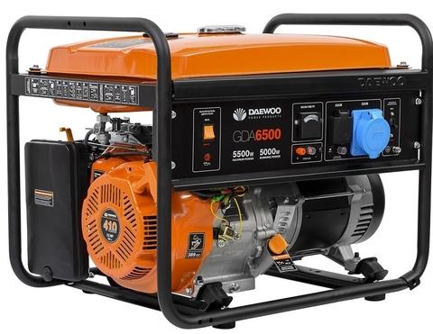 Генератор бензиновый Daewoo GDA 6500 Master Line
