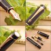 Купить Перьевая ручка Parker Duofold F74 International, цвет: Black GT, S0690410 по доступной цене