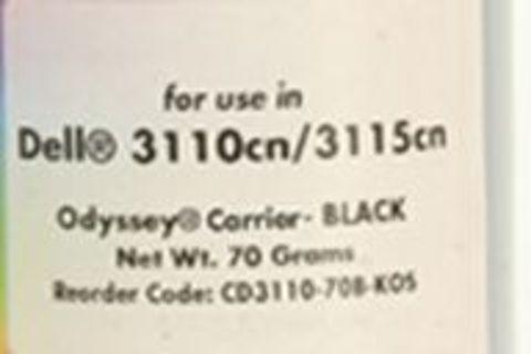 Носитель - девелопер Xerox Phaser 6180, Phaser 6280, Epson C2800, C3800 черный 70g (Static Control)