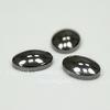 Кабошон овальный Гематит немагнитный глянцевый черный, 8х6 мм