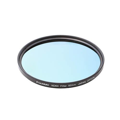 Светофильтр Fujimi ND64 72mm фильтр ND нейтральной плотности (72 мм)