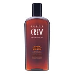 American Crew 24-Hour Deodorant Body Wash - Гель для душа дезодорирующий
