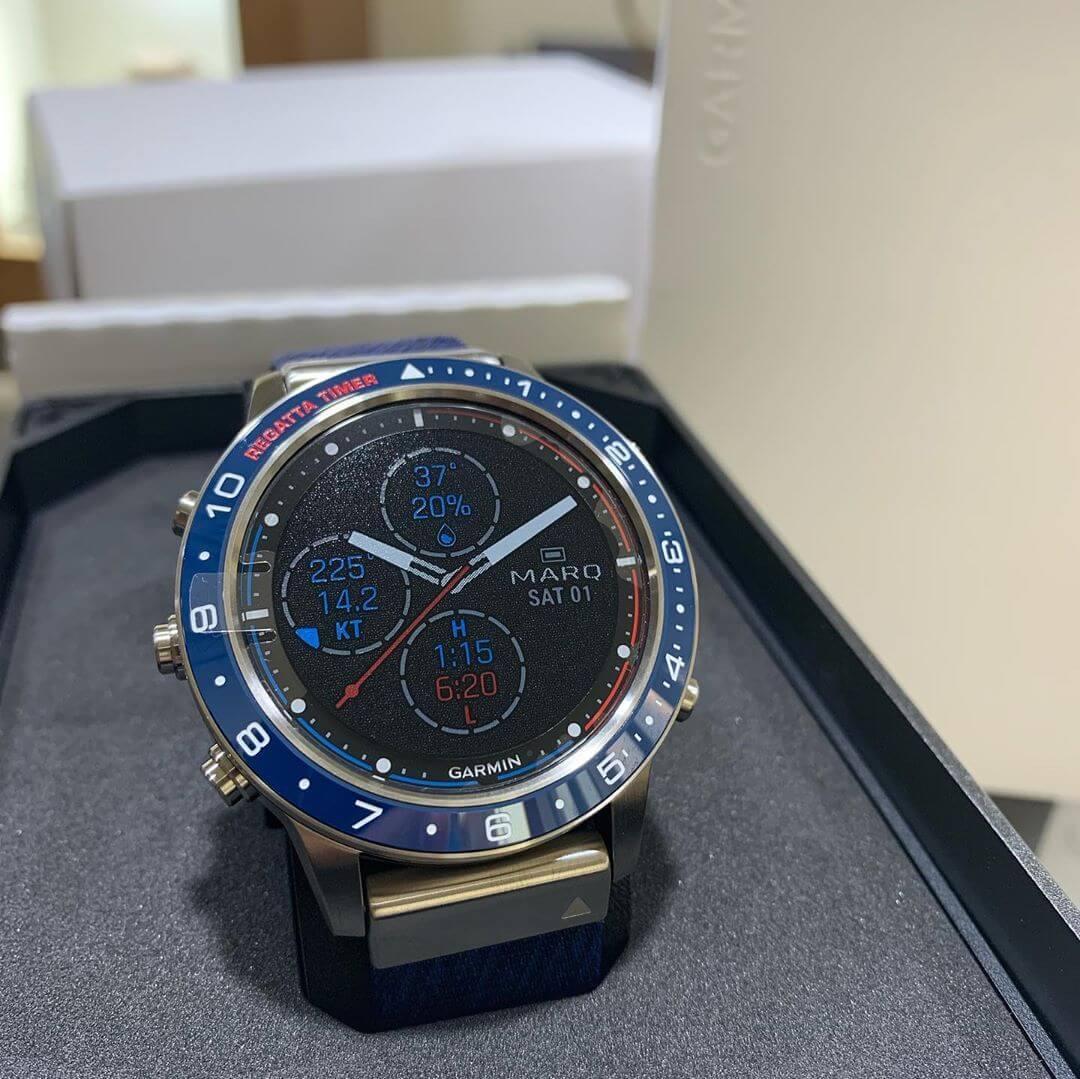 Люксовые мультиспортивные часы Garmin MARQ Captain (010-02006-07 ...