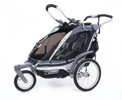 Многофункциональная детская коляска, Thule, Chariot Chinook2, 2-мест. + ПОДАРОК