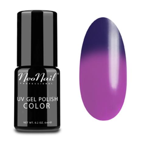 NeoNail Гель-лак UV 6ml Purple Rain Термо №5190-1