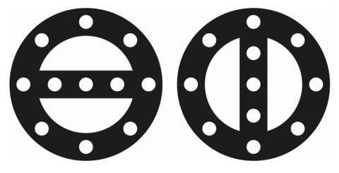 Железнодорожный знак переносной сигнальный знак «Начало опасного места» и «Конец опасного места»