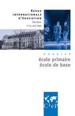 Ecole primaire, ecole de base
