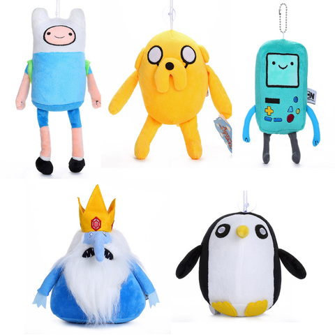 Adventure Time Finn Jake BMO Ice King Penguin Plush
