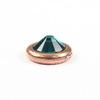 Элемент под заклепку TierraCast для кабошона 7 мм (ss 34)(цвет-античная медь) 10 мм
