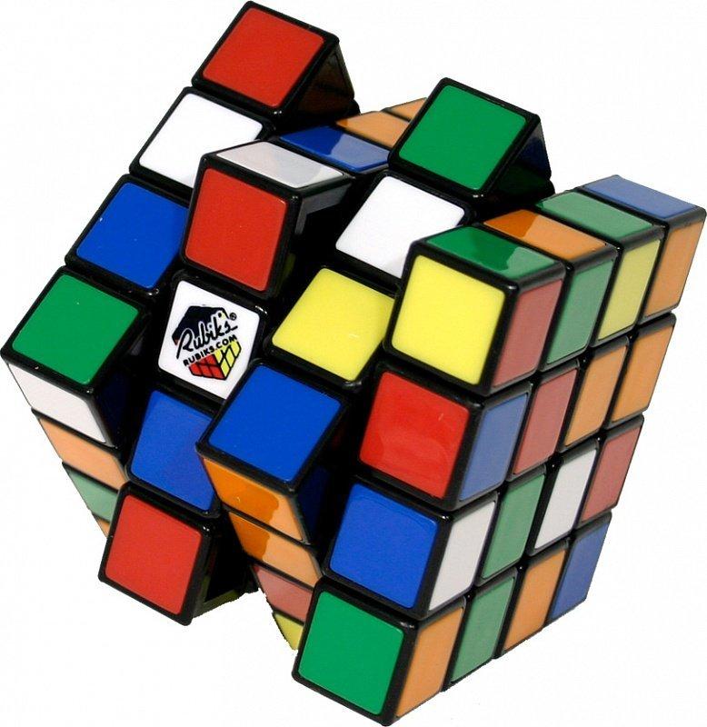 Кубик Рубика 4x4 (Rubik's) без наклеек