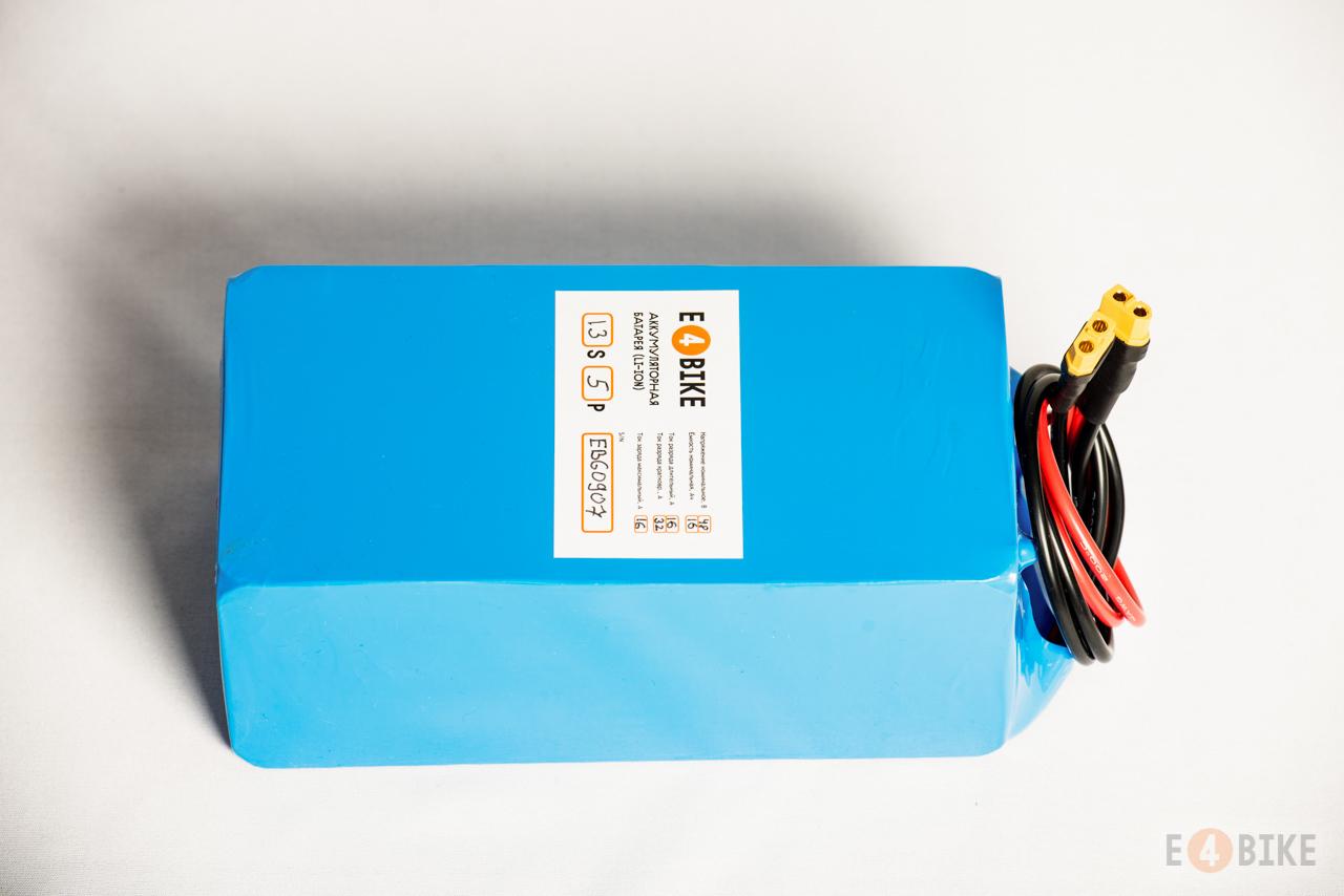 Аккумуляторная батарея LiFePO4 48 В 13.2 Ач (610 Втч)