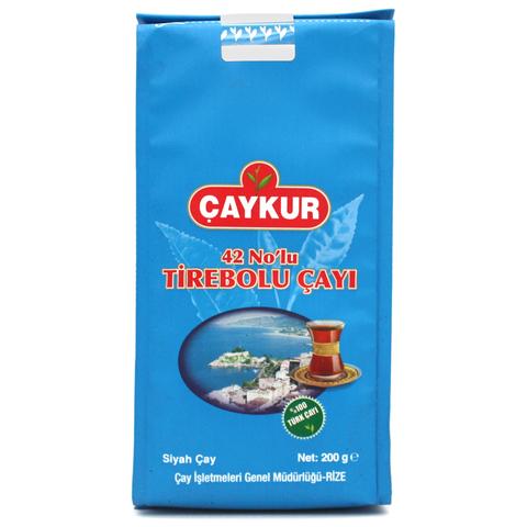Турецкий черный чай Tirebolu №42, Çaykur, 200 г