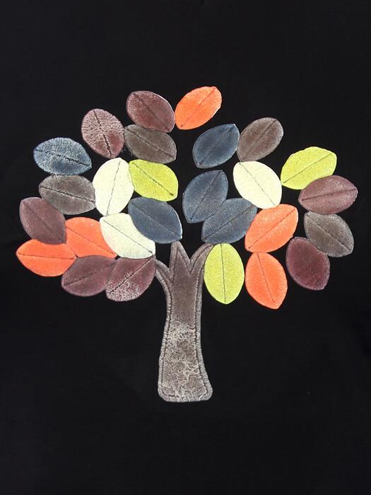 Блуза Осеннее дерево