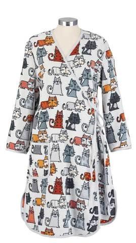 Элитный халат шенилловый Cats Sara от Feiler