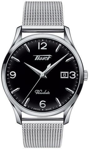 Купить Мужские часы Tissot T118.410.11.057.00 Heritage Visodate по доступной цене