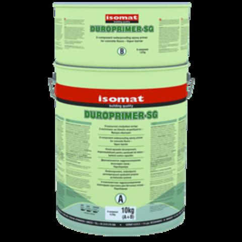 Isomat Duroprimer SG/Изомат Дюропраймер СГ двухкомпонентная эпоксидная грунтовка для бетонных полов