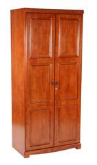 Шкаф двухдверный Агата (836-2D-WR MK-2114-RO) Темная вишня