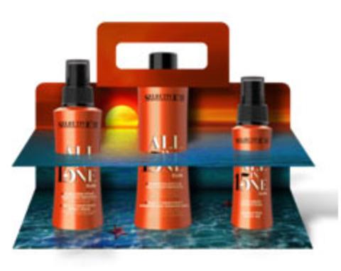 Набор для  восстановления волос All in one sun