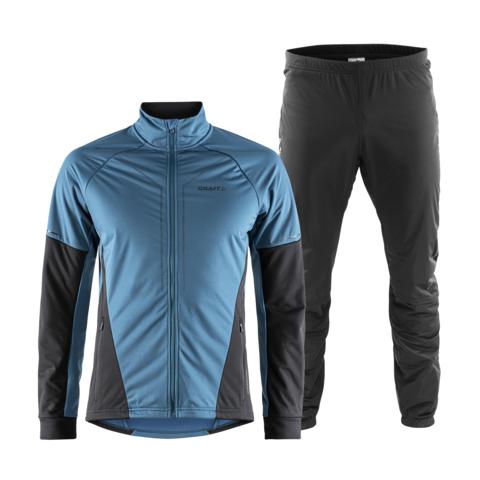 Craft Storm 2.0 мужской лыжный костюм blue-black