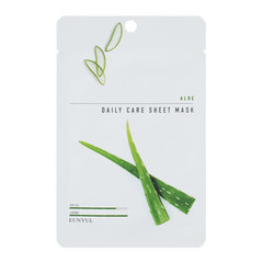 Eunyul Aloe Daily Care Sheet Mask - Тканевая маска для лица с экстрактом алое -