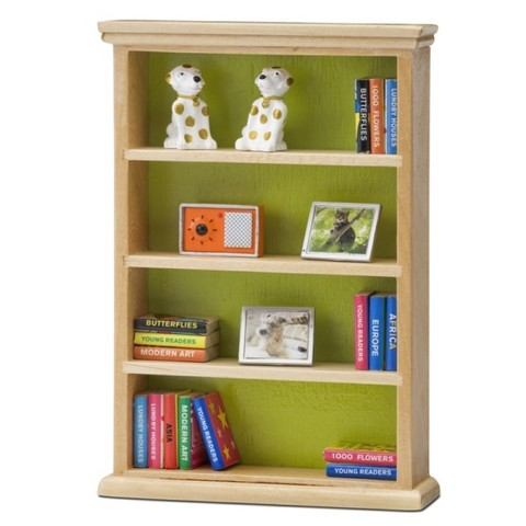 Мебель для домика Смоланд Книжный шкаф, Lundby