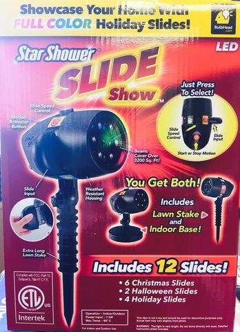 Лазерный проектор Slide Star Shower