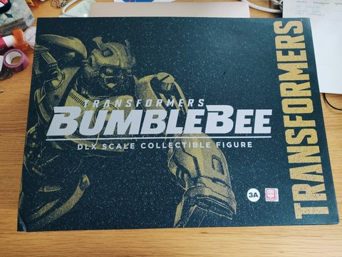 3A Transformers: Bumblebee Deluxe Scale Figure || Бамблби
