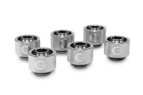 EK-ACF Fitting 10/16mm - Nickel (6-pack)