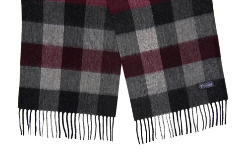 Шерстяной шарф, мужской 30012 SH1A
